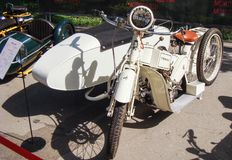 Rétro moto Mars A20 Photographie stock