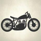 Rétro moto, moto de vintage Images stock