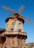 Rétro moulin à vent de type Photo stock