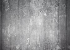 Rétro mur en bois gris avec la verticale barré Image stock