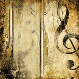 Rétro musique illustration stock