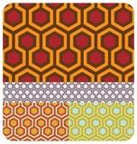 Rétro nid d'abeilles Illustration Libre de Droits