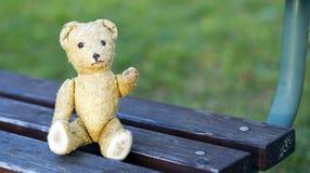 Rétro ours de jouet Photographie stock libre de droits