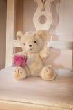 Rétro ours de nounours Photos stock