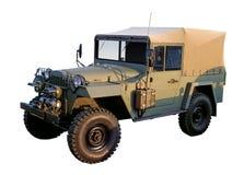Rétro période du véhicule WW2 des militaires 4x4 Photographie stock libre de droits
