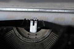 Rétro papier de machine à écrire Photographie stock libre de droits