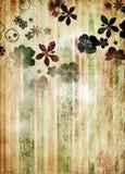 Rétro papier peint Photo libre de droits