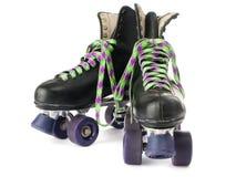 Rétro patins de rouleau Image libre de droits