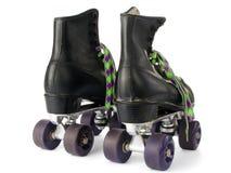 Rétro patins de rouleau images libres de droits
