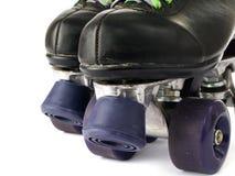 Rétro patins de rouleau image stock