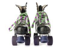 Rétro patins de rouleau Photo libre de droits