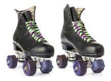 Rétro patins de rouleau Images stock