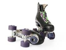 Rétro patins de rouleau photos stock
