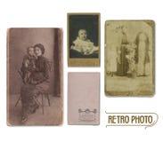 Rétro photo Images libres de droits