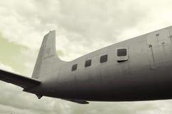 Rétro photo d'avion image libre de droits