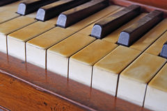 Rétro piano Photo stock