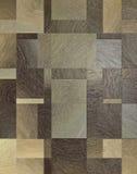 Rétro plancher en bois de tuile Images libres de droits