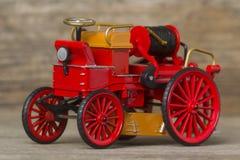 Rétro pompe à incendie Image libre de droits