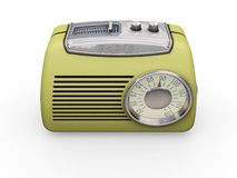 Rétro radio Images libres de droits
