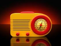 Rétro radio illustration libre de droits
