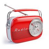 Rétro radio illustration stock