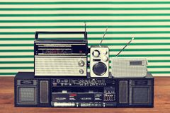 Rétro radio images stock