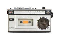 Rétro radio d'isolement Image libre de droits