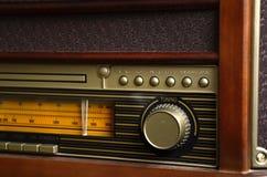 Rétro radio de conception photo libre de droits
