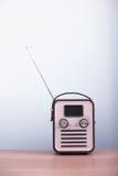 Rétro radio de type Photographie stock libre de droits