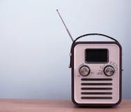 Rétro radio de type Images libres de droits