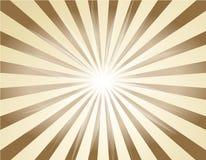 Rétro rayon de soleil illustration stock