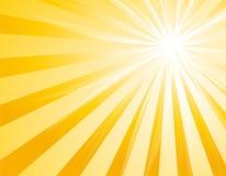 Rétro rayon de soleil illustration de vecteur