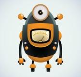 Rétro robot illustration de vecteur