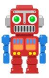 Rétro robot 2 Images libres de droits
