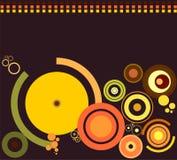 rétro ronds Photographie stock libre de droits