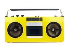Rétro sableuse jaune de ghetto photographie stock libre de droits