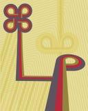 rétro sale de fond Illustration Libre de Droits