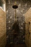Rétro salle de bains Photos libres de droits