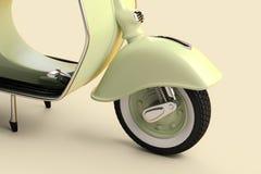 Rétro scooter illustration libre de droits