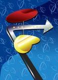 Rétro signe d'années '50 Illustration de Vecteur