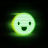 Rétro sourire d'affichage Images libres de droits