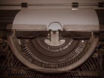 Rétro style ancien de machine de machine à écrire Image libre de droits