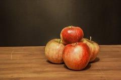 Rétro style de pommes Image stock