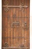 Rétro style de porte antique traité Photographie stock libre de droits