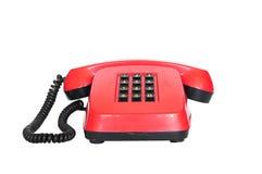 Rétro téléphone avec des boutons Photos libres de droits