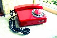 Rétro téléphone soviétique Images libres de droits