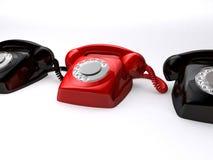 Rétro telefones Photo stock