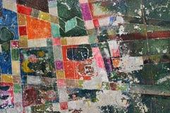 Rétro texture de mur Image stock
