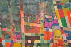 Rétro texture de mur Images libres de droits