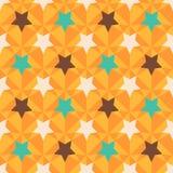 Rétro texture sans couture géométrique. Images libres de droits